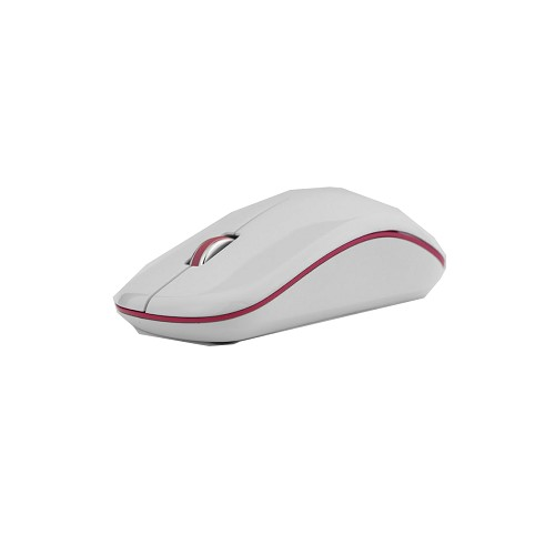 MICROPACK Optical Mouse [MP-770] - White/Red - Mouse Basic